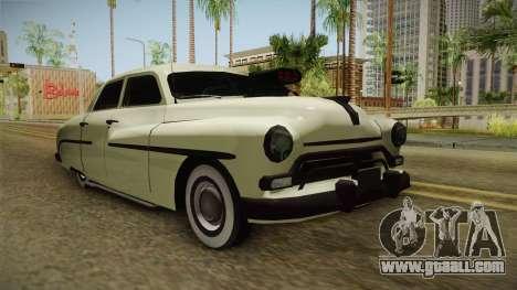 Mercury Monterey Sedan 1950 for GTA San Andreas right view