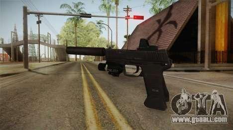 Battlefield 4 - Compact 45 for GTA San Andreas second screenshot
