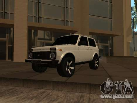 Niva 2121 Аrmenian for GTA San Andreas