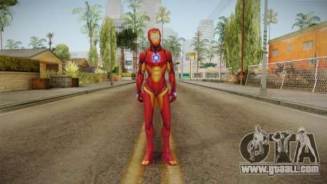 Marvel Future Fight - Iron Heart for GTA San Andreas second screenshot