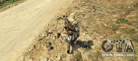 GTA 5 Connor Kenway Assassins Creed 3 second screenshot