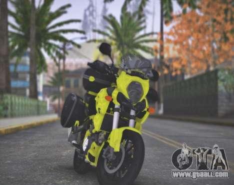 SUZUKI V-STROM 1000 for GTA San Andreas right view