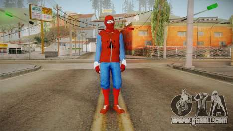 Spider-Man Homecoming - Home Costume (Fan Made) for GTA San Andreas second screenshot