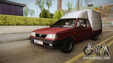Daewoo-FSO Polonez Truck Plus 1.6 GLi for GTA San Andreas back left view