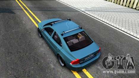 Volvo S60R for GTA San Andreas back view