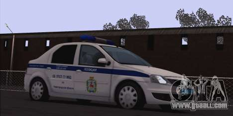 Renault Logan for Moi for GTA San Andreas left view