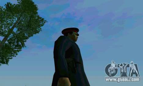 The police captain of the USSR for GTA San Andreas fifth screenshot
