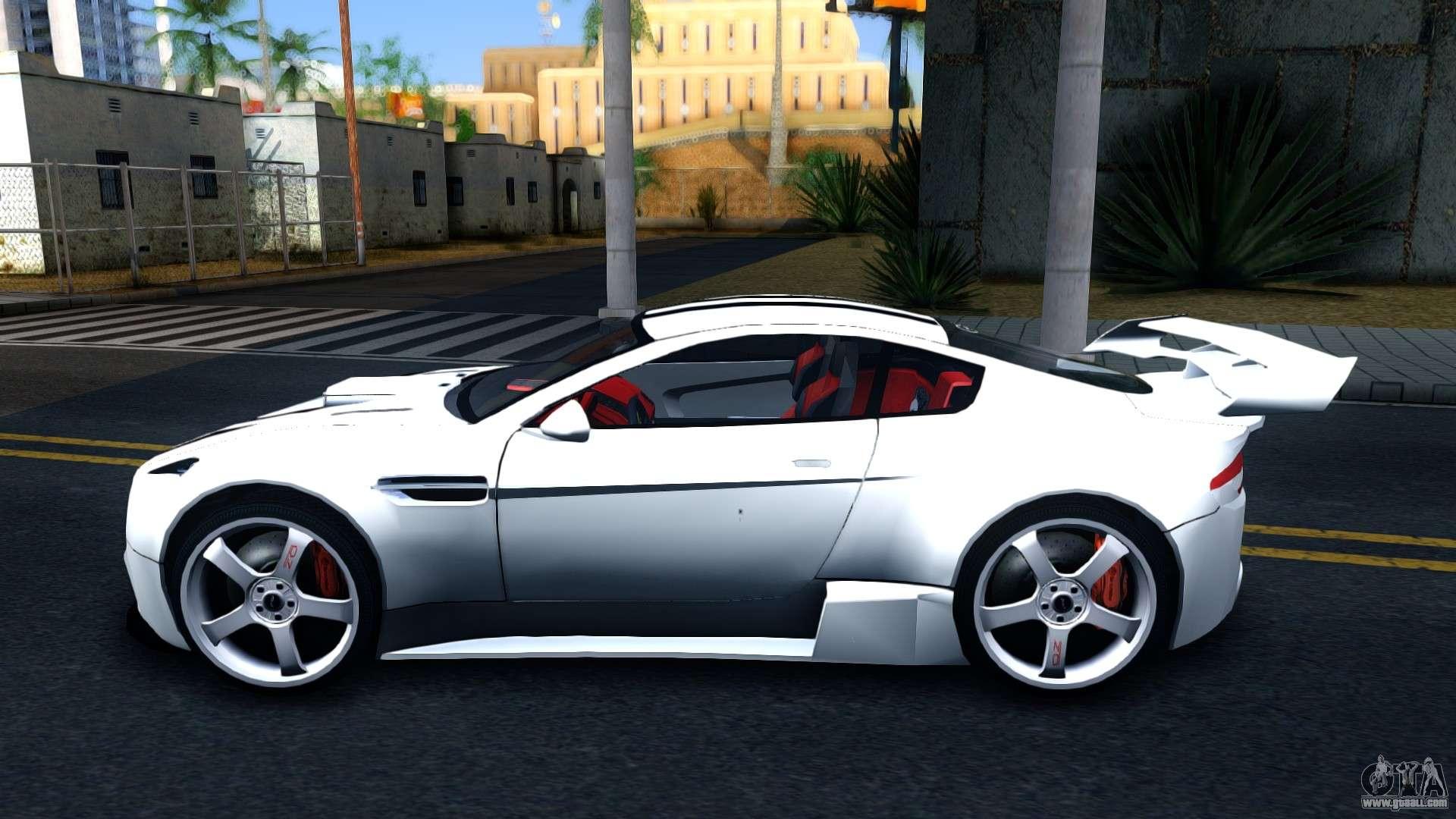Aston Martin Vantage V For GTA San Andreas - Aston martin vantage v8
