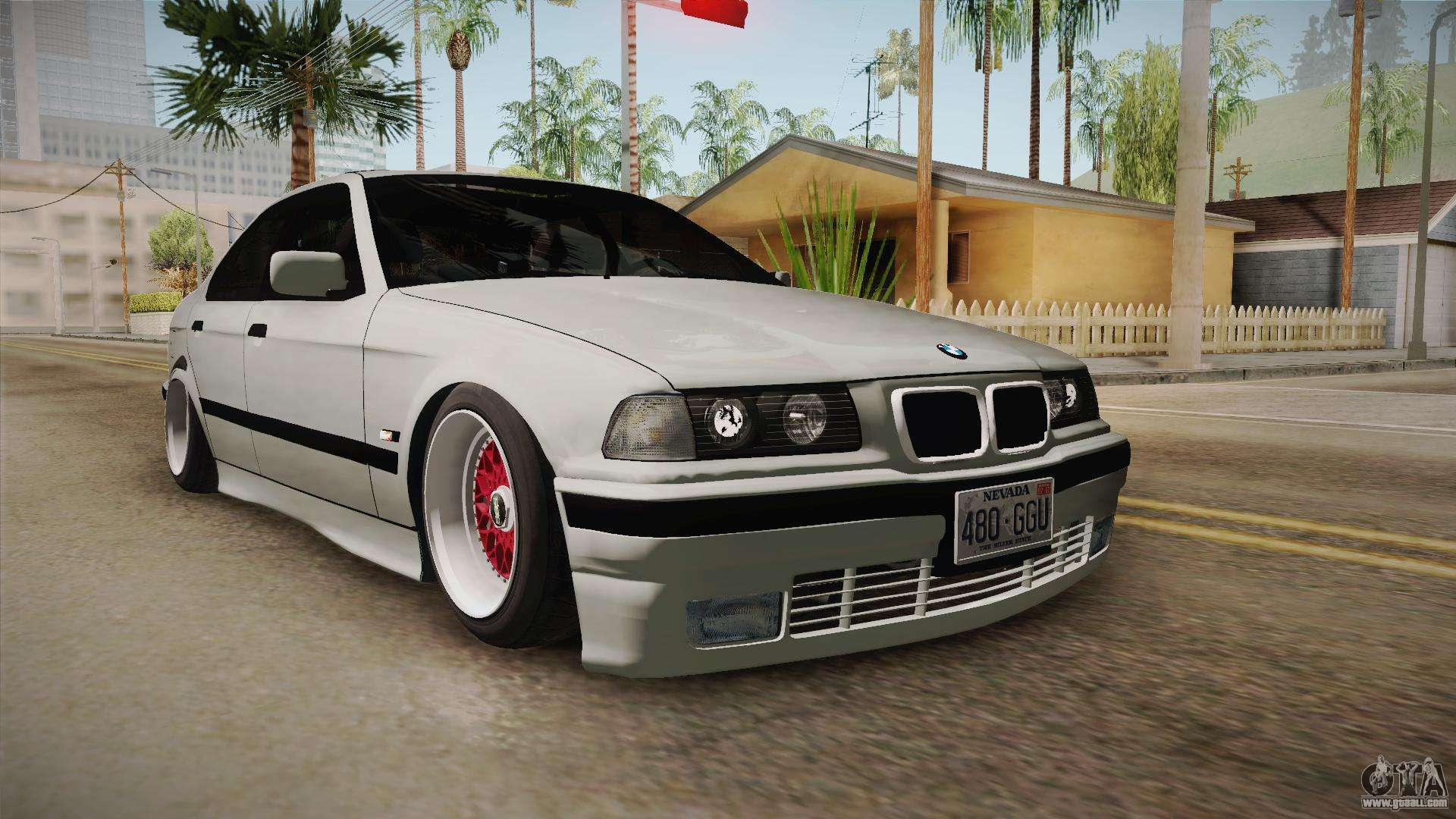 bmw 320i e36 sedan for gta san andreas. Black Bedroom Furniture Sets. Home Design Ideas