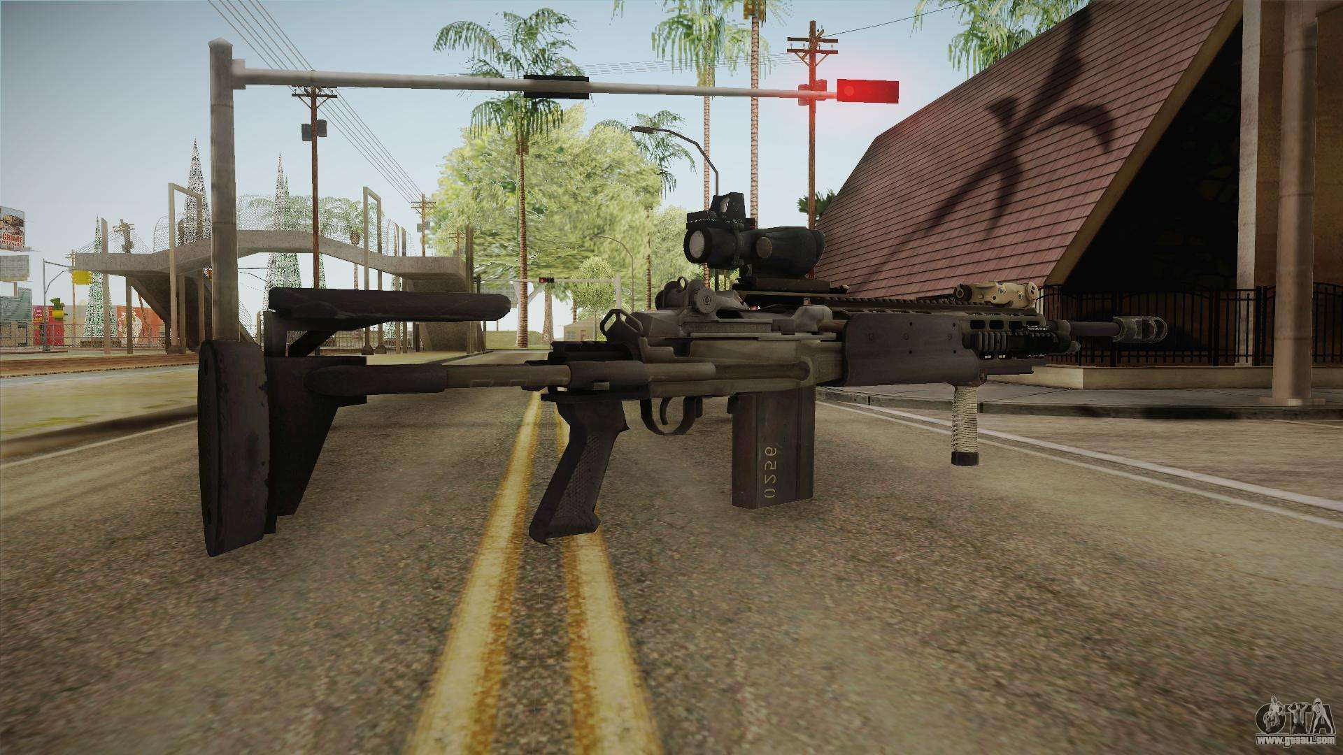 Battlefield 4 - M39 EMR for GTA San Andreas