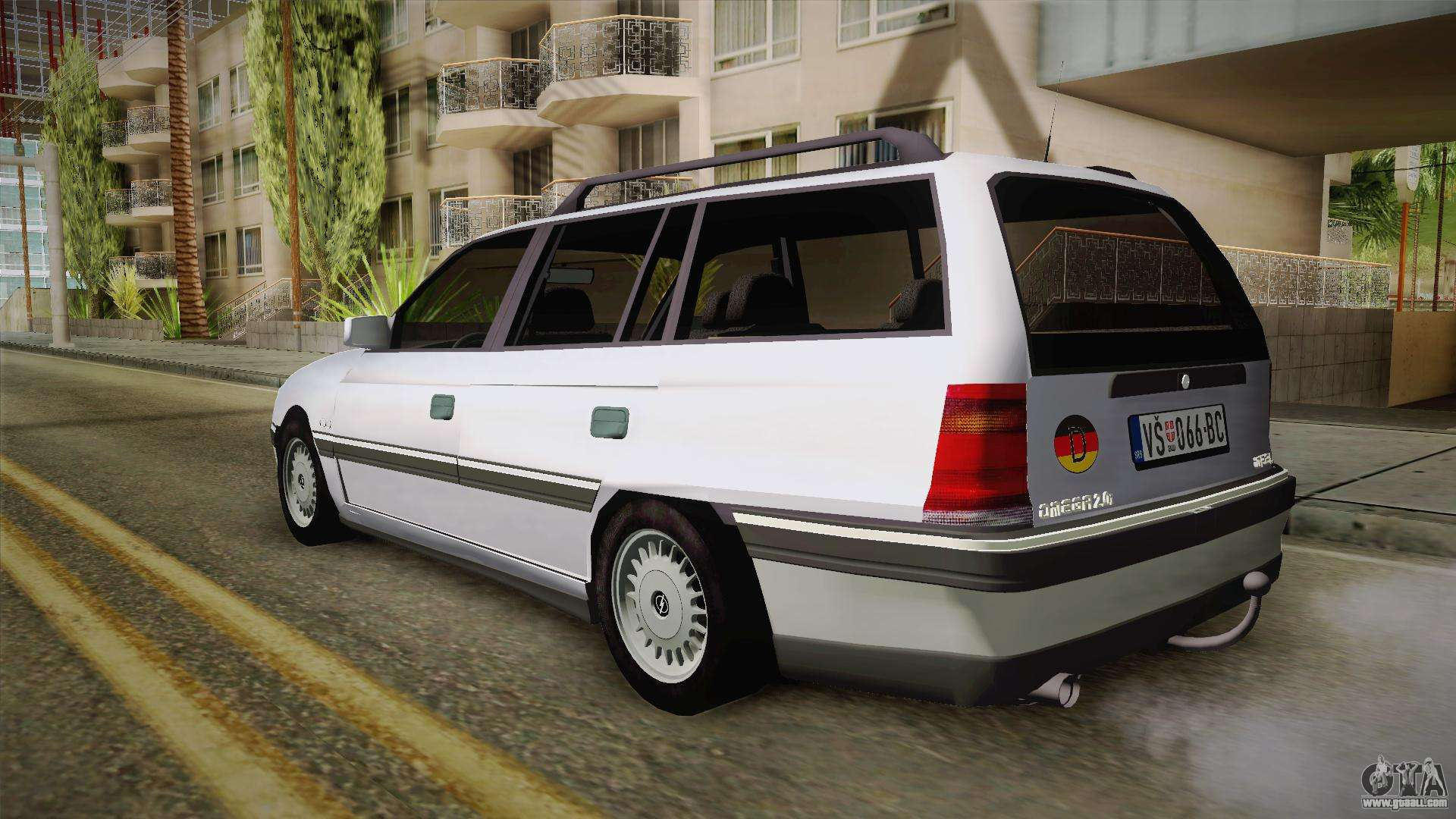 opel omega a kombi for gta san andreas. Black Bedroom Furniture Sets. Home Design Ideas