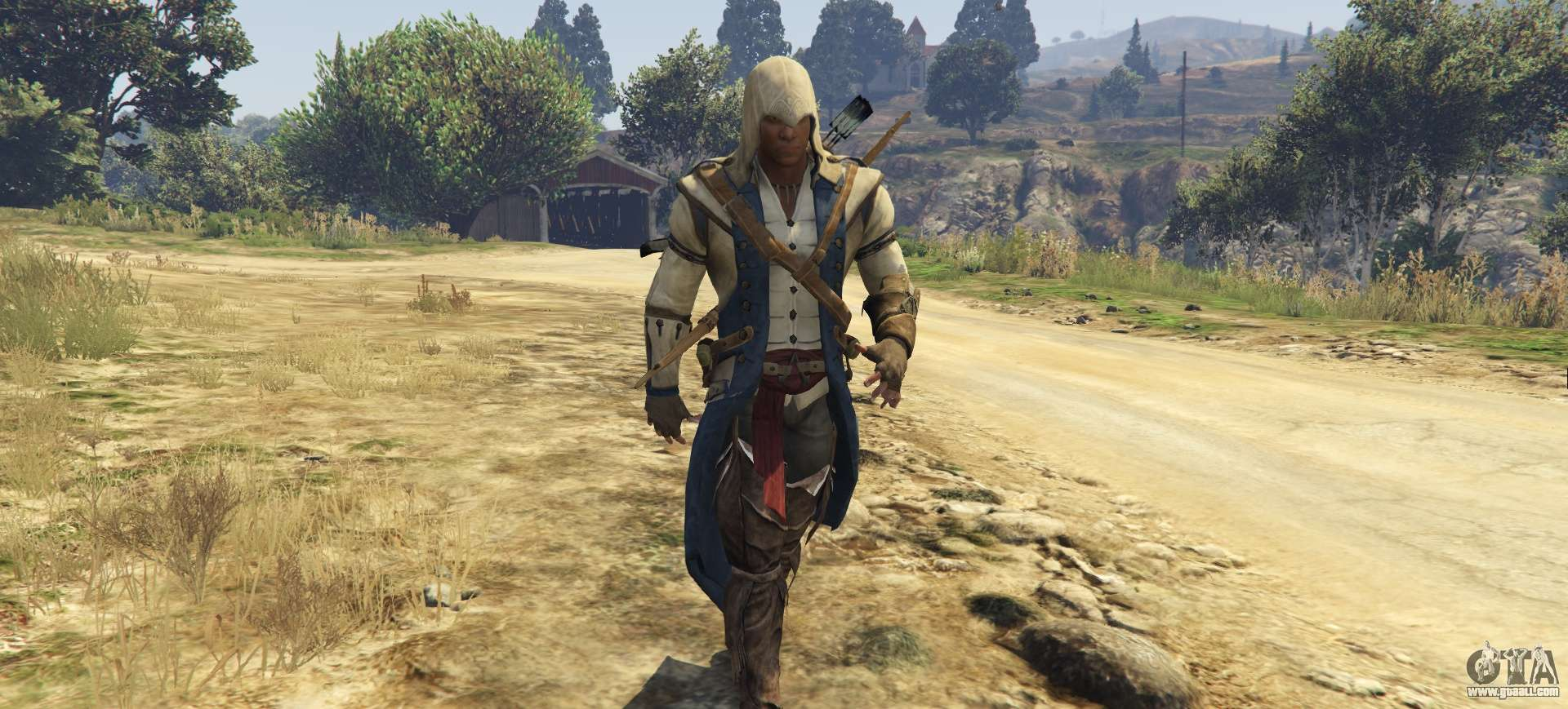 Connor Kenway Assassins Creed 3 For Gta 5