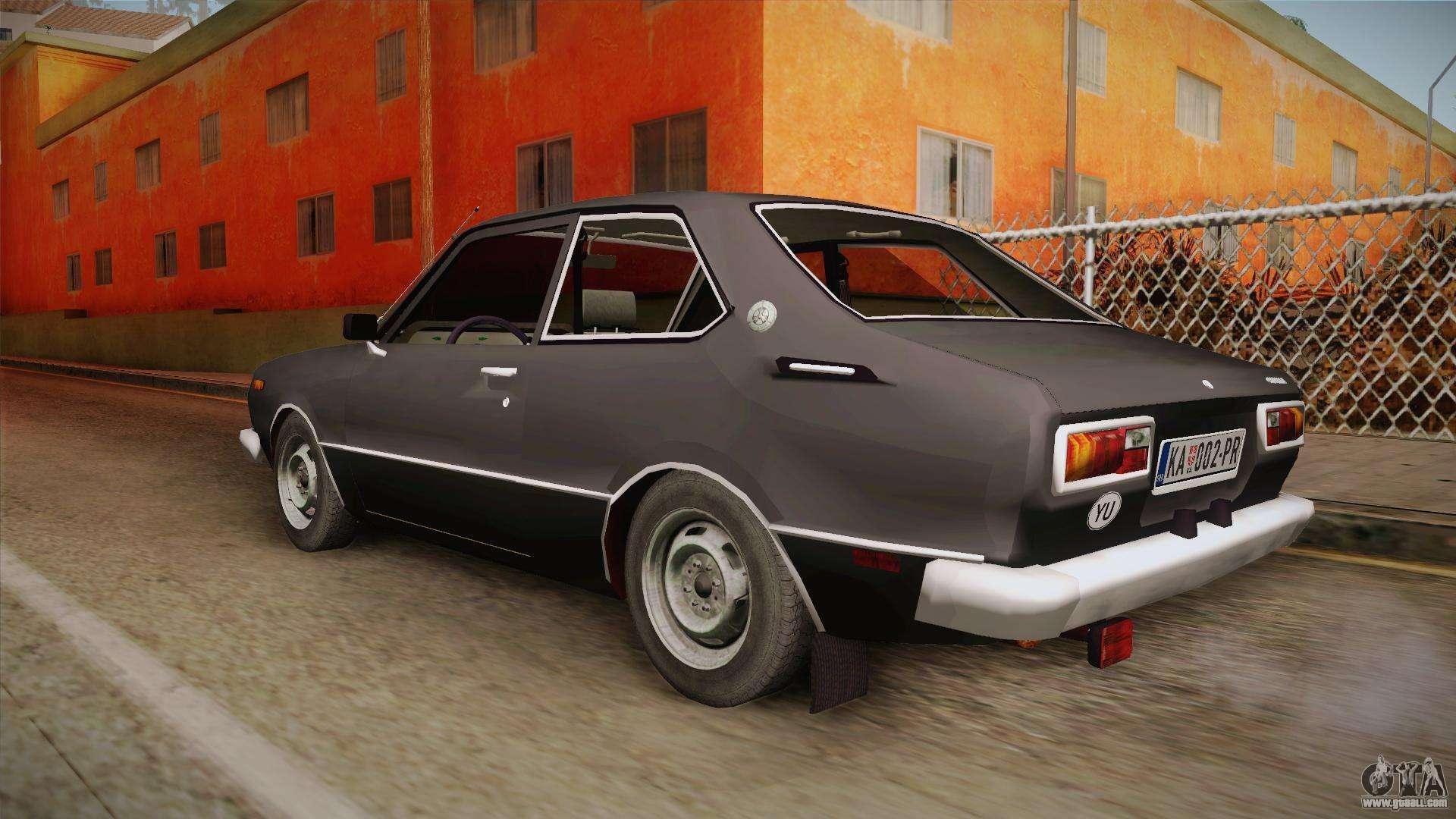 Toyota Corolla 1977 For Gta San Andreas