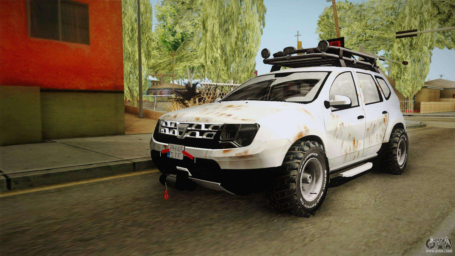 dacia duster mud edition for gta san andreas. Black Bedroom Furniture Sets. Home Design Ideas