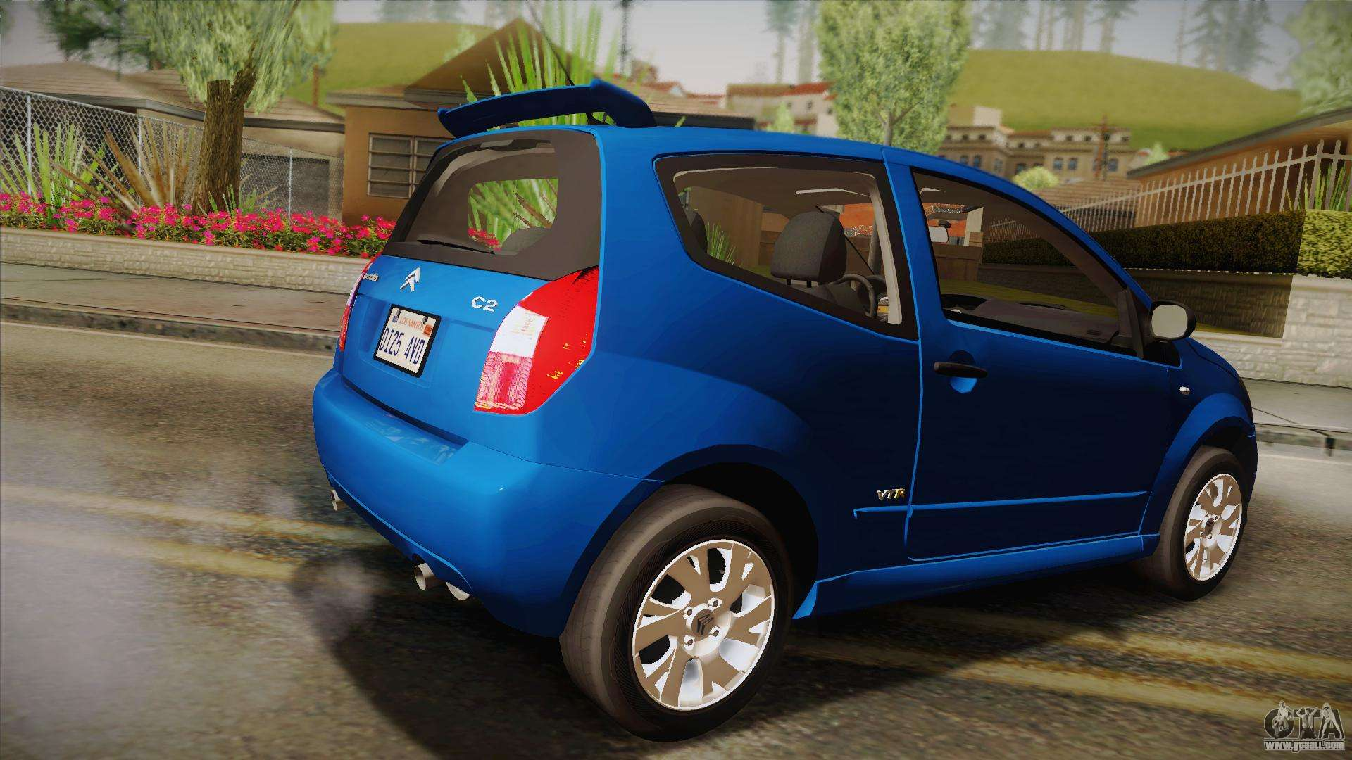 citroen c2 vtr tunable for gta san andreas. Black Bedroom Furniture Sets. Home Design Ideas