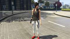 Faith Connors Mirrors Edge for GTA 5