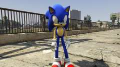 Sonic The Hedgehog for GTA 5