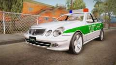 Mercedes-Benz E500 Iranian Police for GTA San Andreas