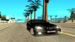 Mercedes-Benz 600SEC for GTA San Andreas