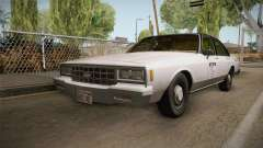 Chevrolet Impala Taxi 1985 IVF for GTA San Andreas