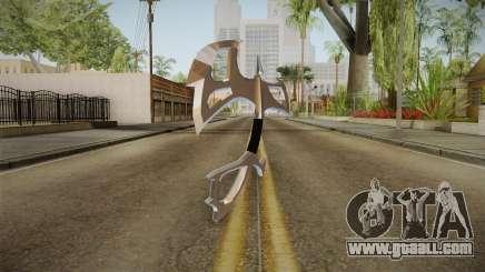 Chromed Battle Axe for GTA San Andreas
