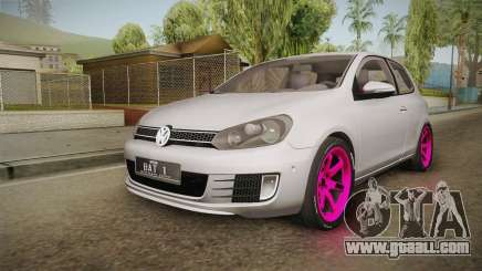 Volkswagen Golf Mk6 GTI for GTA San Andreas