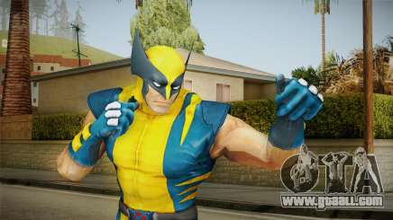 Marvel Heroes - Wolverine Modern UV No Claws for GTA San Andreas