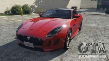 Jaguar F-Type R&SVR for GTA 5