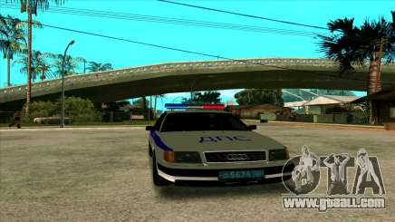 Audi 100 C4 Police for GTA San Andreas
