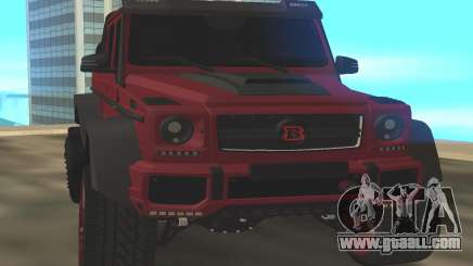 BRABUS G6x6 for GTA San Andreas