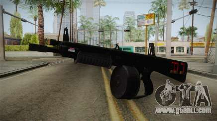 AA-12 for GTA San Andreas