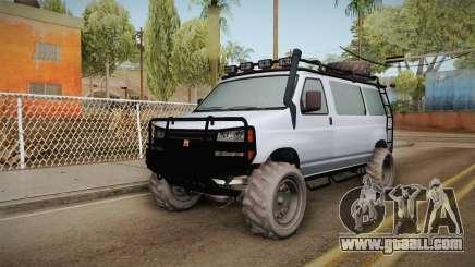 GTA 5 Bravado Rumpo Custom for GTA San Andreas