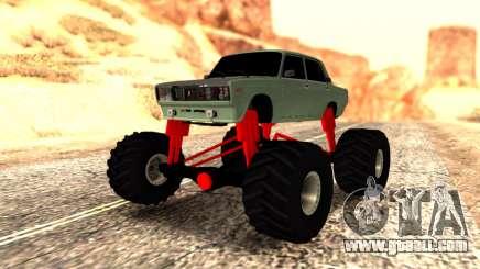 Vaz 2107 Monster for GTA San Andreas