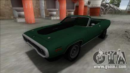 Plymouth GTX Cabrio for GTA San Andreas