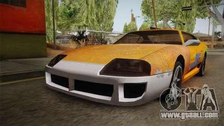 Jester PJ Old Supra F&F for GTA San Andreas