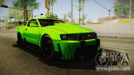 Ford Mustang NFS Green for GTA San Andreas