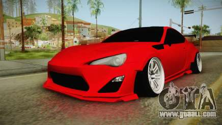 Toyota GT86 for GTA San Andreas