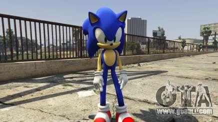Sonic The Hedgehog for GTA 5