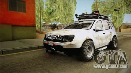 Dacia Duster Mud Edition for GTA San Andreas