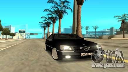 Mercedes-Benz 600SEC for GTA San Andreas