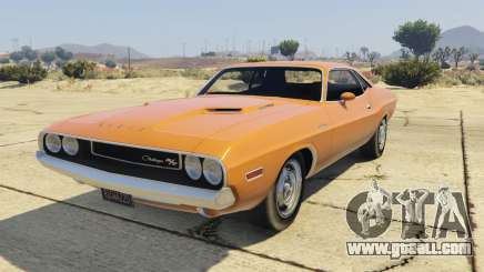 Dodge Challenger 70 for GTA 5