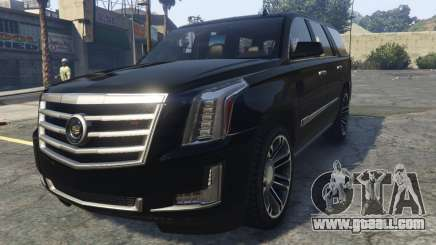 Cadillac Escalade FBI for GTA 5