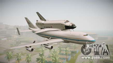 Boeing 747-100 Shuttle Carrier Aircraft for GTA San Andreas