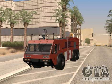 E-One Titan Force 6x6 for GTA San Andreas right view