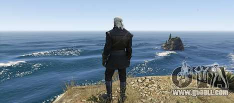 GTA 5 Geralt of Rivia New Moon Gear third screenshot