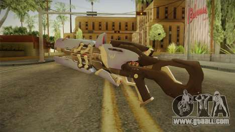 Overwatch 9 - Widowmakers Rifle v1 for GTA San Andreas second screenshot