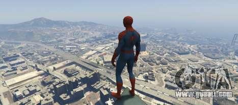 GTA 5 The Amazing Spider-Man 2 second screenshot
