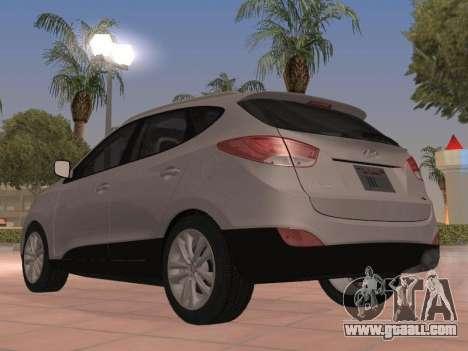 Hyundai ix35 2.0 CRDi 2010 for GTA San Andreas left view