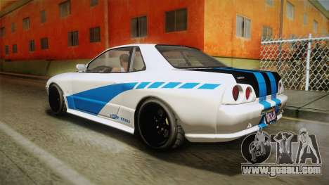 GTA 5 Annis Elegy Retro Custom v2 IVF for GTA San Andreas side view
