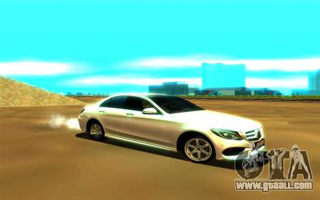 Mercedes-Benz C250 for GTA San Andreas